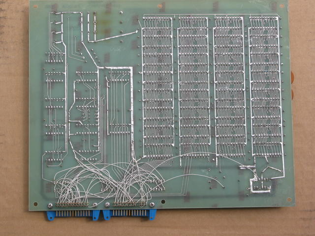 memory board, circuit side